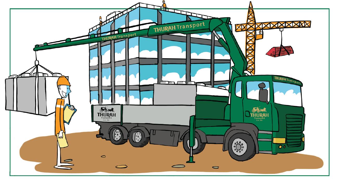 Bedre Byggeplads Logistik motiv